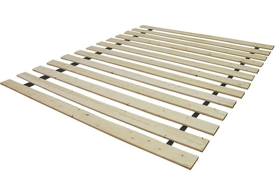 Platform bed slats need the right sizing