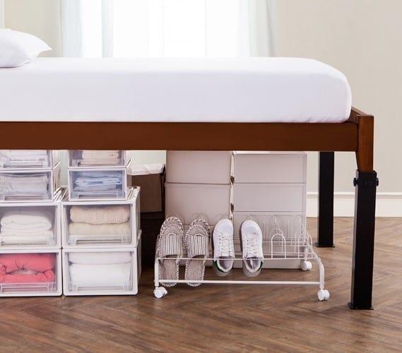 Platform bed riser helps add space