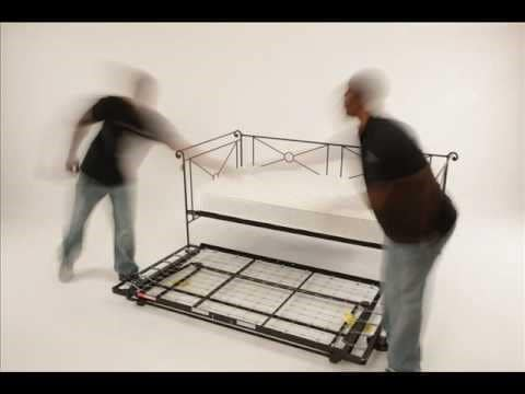 Popup trundle beds do not have storage