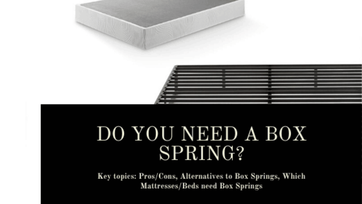 Do You Need A Box Spring With A Platform Bed 10 Pg Guide