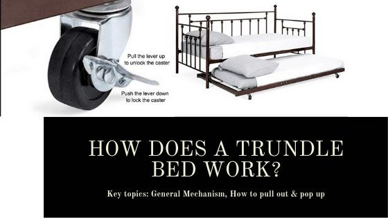 How does a trundle bed work