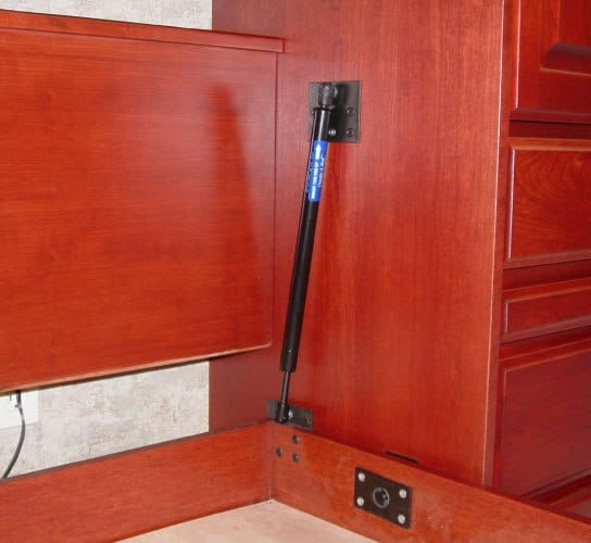 Piston Lifts for Murphy Beds