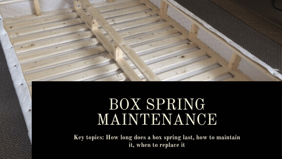 How long does a box spring last blog post